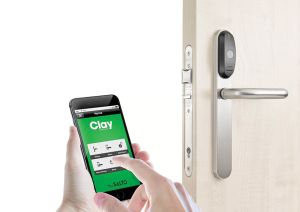 The Clay by SALTO access control solution