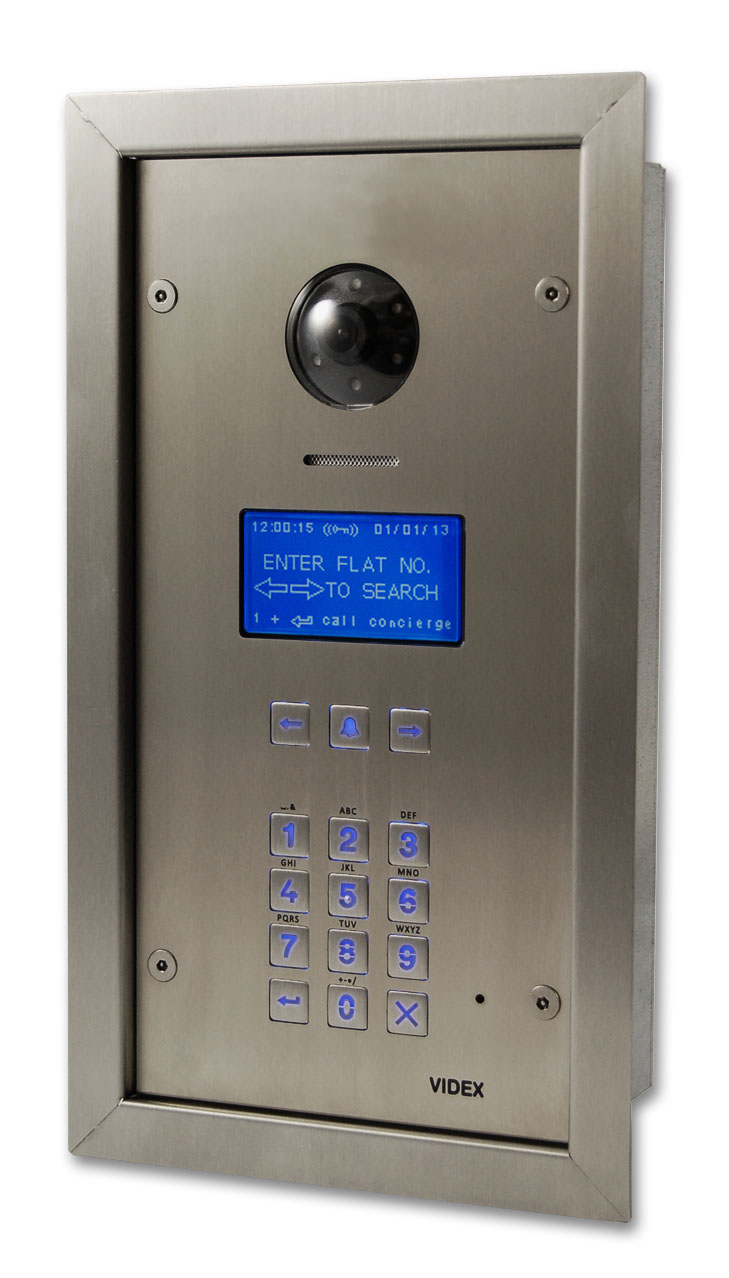 Videx Expands Digital Door Entry Panel Range With Development Of