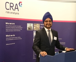 Jas Sidhu (CEO of Corporate Risk Associates) at the 2015 Risk Forum
