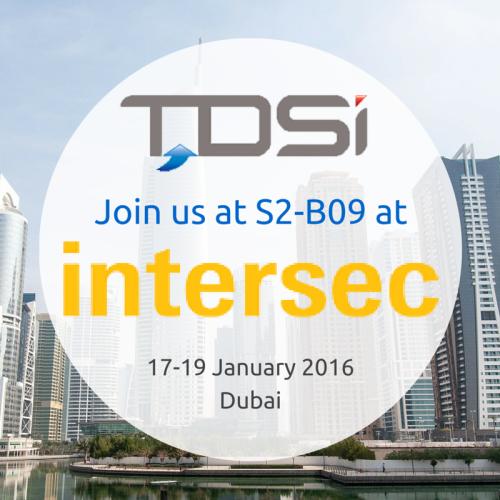 TDSi Intersec 2016 SQUARE
