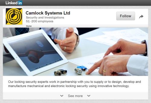 CamlockSystemsLinkedIn