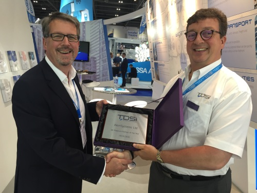 Ian Trayling and John Davies Alert Systems Award