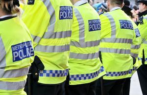 Metropolitan Police Officers, London, UK