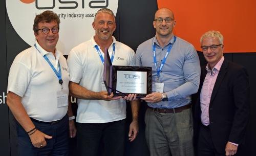 TDSi - ADI award photo