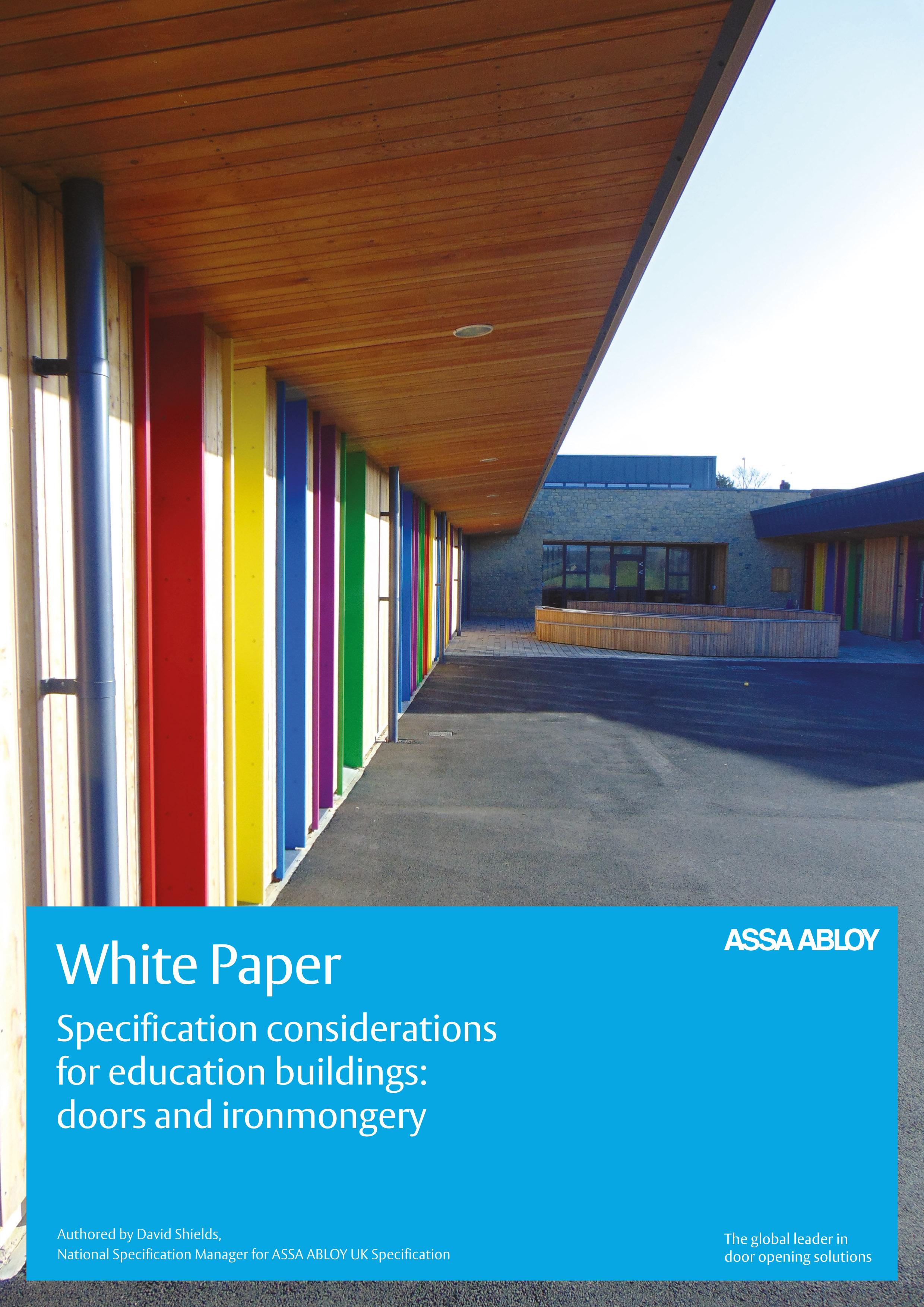 AAUKSpecificationEducationSectorWhitePaper